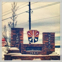 Photo taken at Indian Village  Camp Navajo by Melissa F. on 12/24/2012