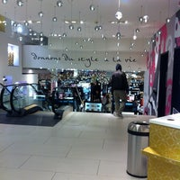 Photo taken at Grands Magasins Manor by Niloufar K. on 12/26/2013