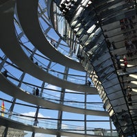 Photo taken at Reichstag Dome by Massimo B. on 5/19/2013