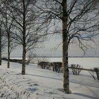 Photo taken at Набережная Северной Двины by Luda U. on 3/23/2016