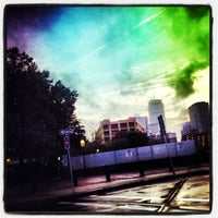 Photo taken at 4th Street Bridge by chuckdafonk F. on 8/9/2013