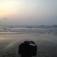 Photo taken at Devbagh Beach by Anant A. on 5/12/2013