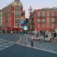 Photo taken at Place Pierre Gautier by Sibel E. on 7/10/2015
