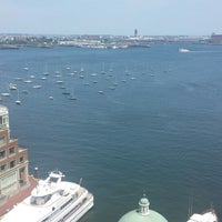 Photo taken at Boston Harbor Hotel by Brian C. on 7/19/2013