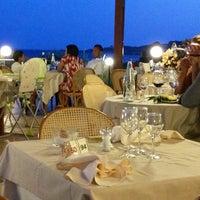 Photo taken at Hotel dei Pini Alghero by Alli on 7/21/2013