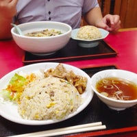 Photo taken at 珍来 千現店 by Reina S. on 8/1/2013