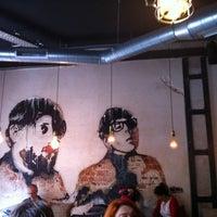 Photo taken at Naif Sandwich & Bar by Di P. on 11/17/2012