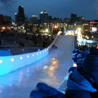 Photo taken at Red Bull Crashed Ice 2014 by Bud K. on 1/26/2013