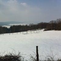 """Photo taken at Bergbaude """"Schöne Aussicht"""" by Stefan K. on 3/15/2013"""