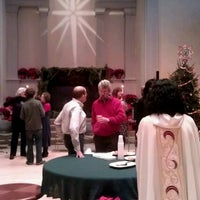 Photo taken at St. Mark's Church in the Bowery by Roger W. on 12/25/2012