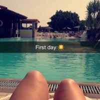 Photo taken at Aegean View Aqua Resort by Annemie L. on 9/11/2015