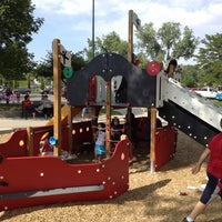 Photo taken at Sloan's Lake Pirate Playground by Geoff M. on 6/10/2012