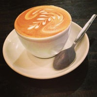 Photo taken at Flat White by emma t. on 1/24/2013