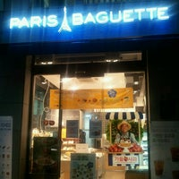 Photo taken at PARIS BAGUETTE by Natalia L. on 10/9/2013