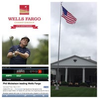Photo taken at Wells Fargo Championship by Chris M. on 5/4/2013