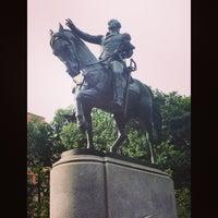 Photo taken at George Washington Statue by Regis M. on 8/2/2014