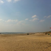 Photo taken at Camber Sands Beach by Rob W. on 4/1/2013