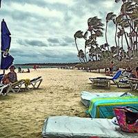 Photo taken at Los Corales Beach by Joel C. on 5/17/2013