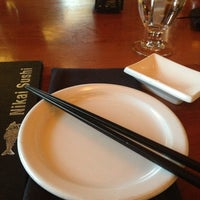 Photo taken at Nikai Sushi by Zah A. on 7/22/2013