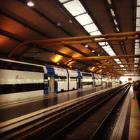 Photo taken at Fiumicino Aeroporto railway station (ZRR) by Daniel T. on 6/1/2013