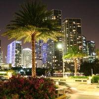 Photo taken at Azul at Mandarin Oriental, Miami by Jeremy J. on 8/7/2015