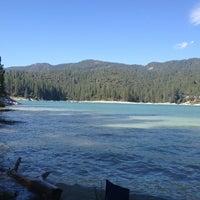 Photo taken at Bass Lake by Liz L. on 7/6/2013