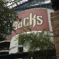 Photo taken at Chase Field by Héctor L. on 7/27/2013