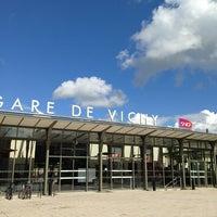 Photo taken at Gare SNCF de Vichy by Sébastien R. on 5/25/2013