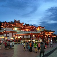 Photo taken at Thean Hou Temple (天后宫) by Mei Y. on 2/17/2013