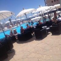 Photo taken at La Jacaranda Lounge Ibiza by Anouk C. on 7/23/2014