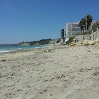 Photo taken at Playa de Fuentebravía by Beni F. on 5/23/2013
