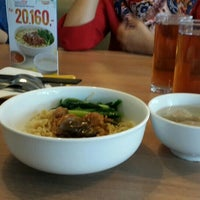 Photo taken at Bakmi GM by Venny S. on 1/22/2016