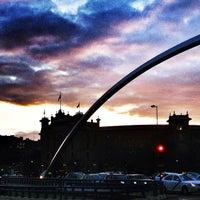 Photo taken at Puente de Ventas by Manu A. on 5/3/2013