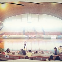 Photo taken at Sritex Arena by Ririn S. on 2/8/2013