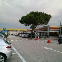 Photo taken at Area di Servizio Conero Est by Matteo F. on 8/20/2013