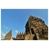 Photo taken at Candi Prambanan (Prambanan Temple) by Ridya P. on 6/26/2013