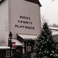 Photo taken at Bucks County Playhouse by Johanna S. on 11/27/2012