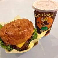 Photo taken at Mahaloha Burger by Yoichi O. on 8/20/2014