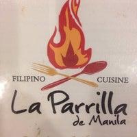 Photo taken at La Parrilla De Manila by Christian A. on 6/25/2014