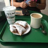 Photo taken at Café Du Monde by Phyllis I. on 6/7/2013
