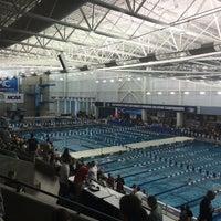 Photo taken at Greensboro Aquatic Center by Burton H. on 3/17/2016