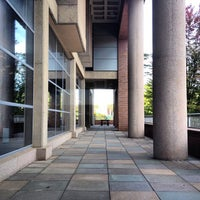 Photo taken at Homer Babbidge Library by Chris N. on 10/3/2013