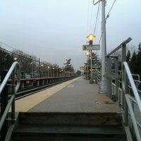 Photo taken at LIRR - Nassau Blvd Station by Christianna G. on 2/28/2013