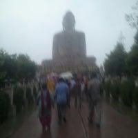 Photo taken at Great Buddha Statue by Rishabh M. on 11/3/2012