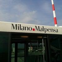 Photo taken at Milan Malpensa Airport (MXP) by Kayon C. on 9/25/2013