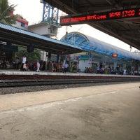 Photo taken at Begumpet Railway Station by Liu L. on 11/18/2016
