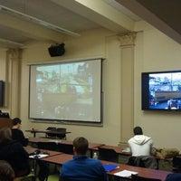 Photo taken at Johnston Hall by Kiarri M. on 11/15/2012