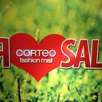 Photo taken at Corteo fashion mall by Igor S. on 8/3/2013