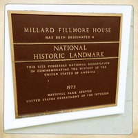 Photo taken at Millard Filmore House Museum by Jen P. on 4/2/2013