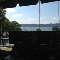 Photo taken at Hudson Beach Cafe by Ted W. on 8/3/2013